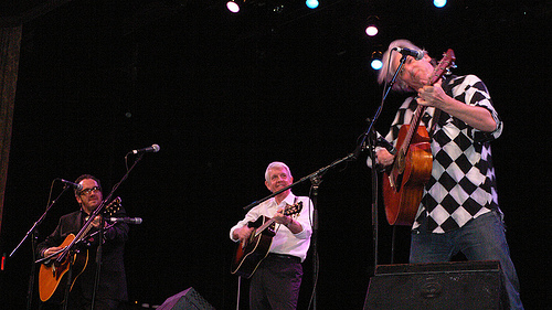 Elvis Costello, Robyn Hitchcock, and Nick Lowe