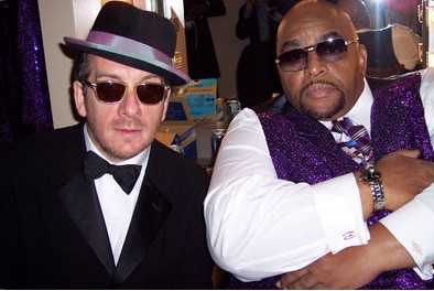 Elvis Costello and Solomon Burke