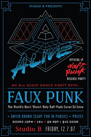 Alive LP Release Party