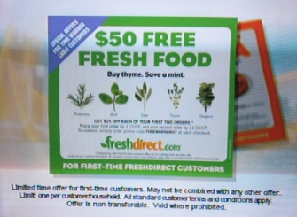 FreshDirect $25 off
