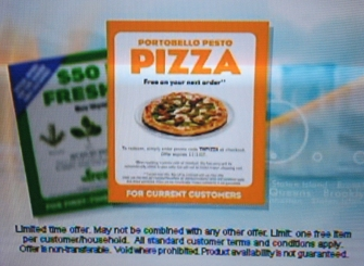 FreshDirect Free Pizza