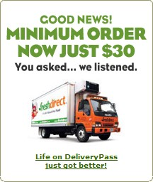 FreshDirect Lowers Minimum Order