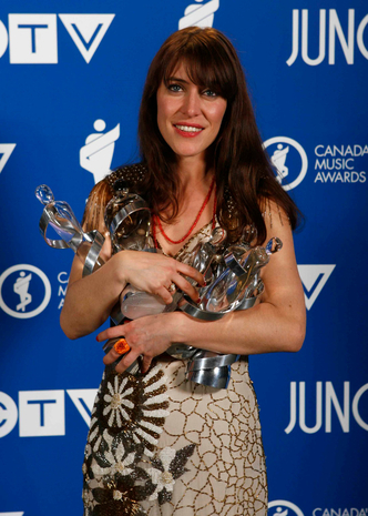 Feist at the Junos