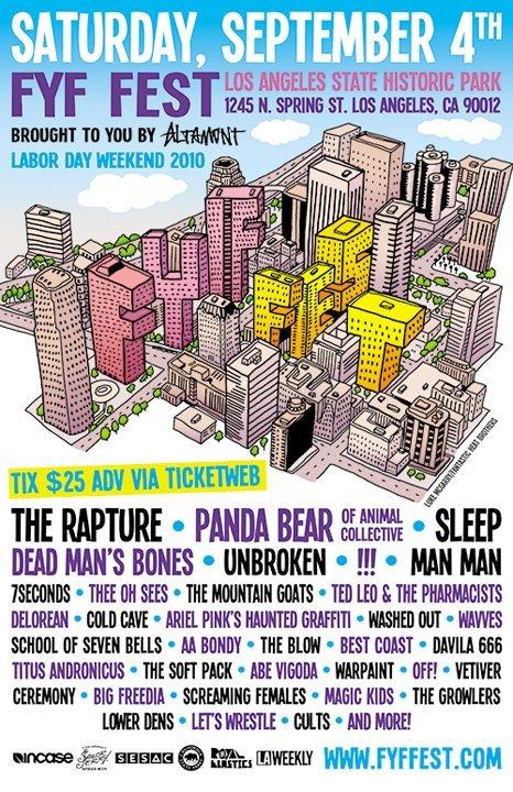 2010 FYF Fest