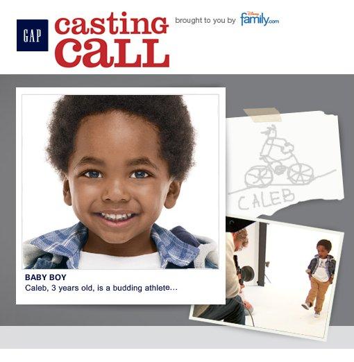 2009 Gap Casting Call