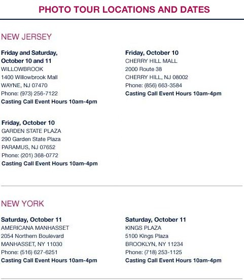 Gap Photo Tour in New York and New Jersey - Click for all dates