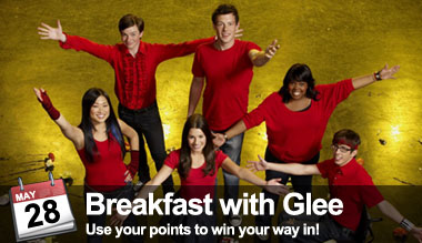 Glee Breakfast at P.C. Richard & Son Theater