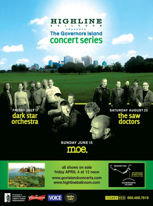 The Governors Island Concert Series