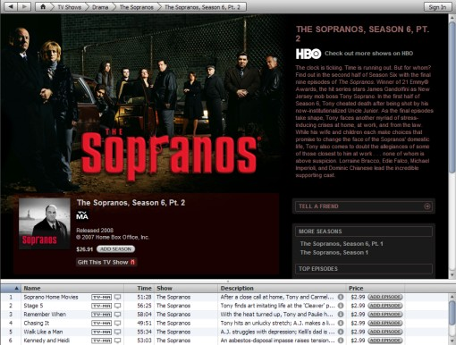 HBO on iTunes