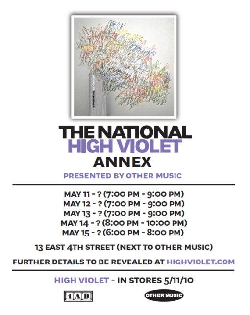 High Violet Annex