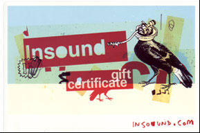 Insound Gift Certificate