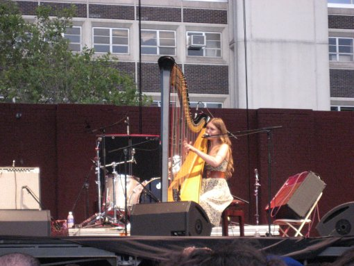 Joanna Newsom at McCarren Pool