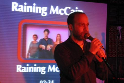 Jon Benjamin Raining McCain