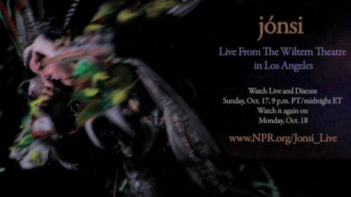 Jonsi NPR Webcast