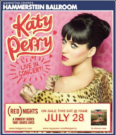 Katy Perry RED Nights