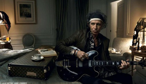 Keith Richards for Louis Vuitton - Click for Larger Image
