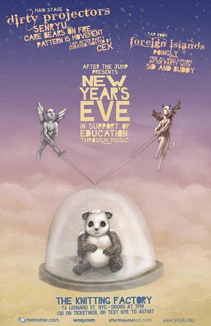 ATJF Presents: New Year's Eve at The Knitting Factory