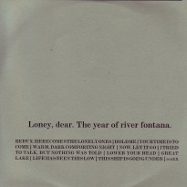 Loney, Dear - The Year of River Fontana