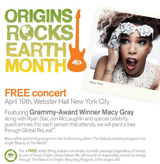 Macy Gray Origins Rocks