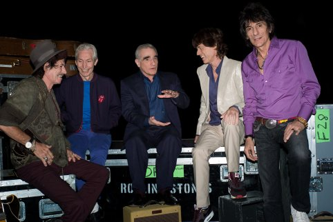 Marty Scorsese and The Rolling Stones