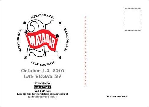 Matador Records 21st Anniversary