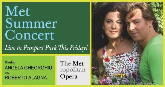 Free Met Opera Summer Concert in Prospect Park