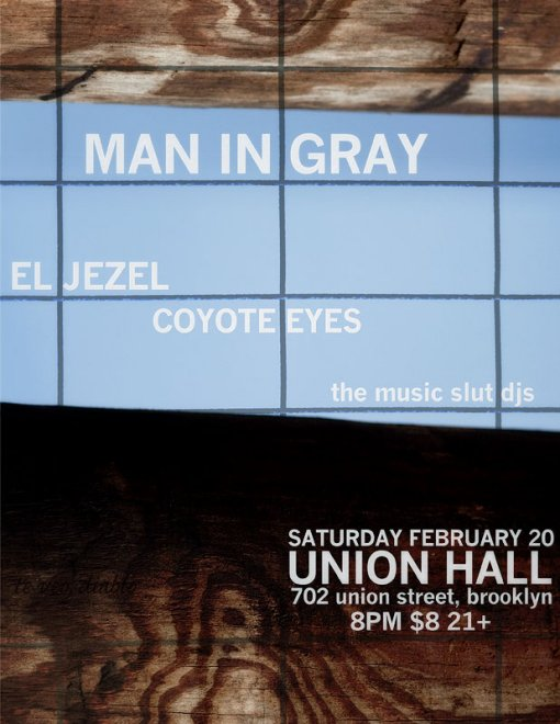 Man In Gray at Union Hall
