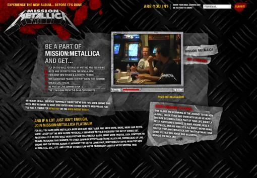 Mission: Metallica