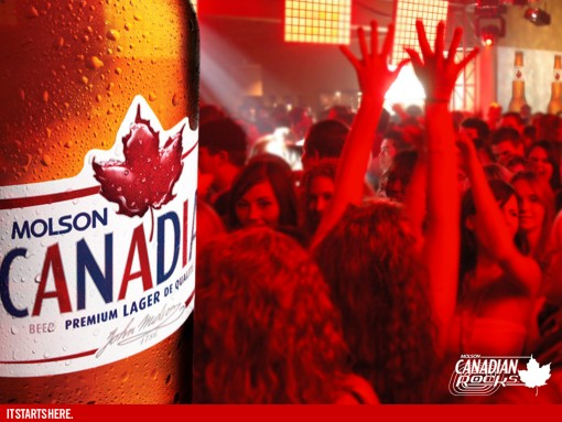 Molson Canadian Rocks