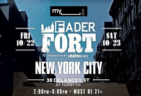 MySpace Fader Fort