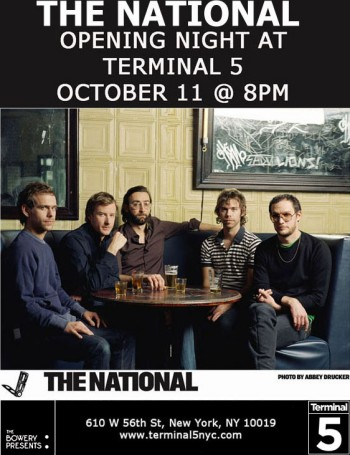 The National at Terminal 5