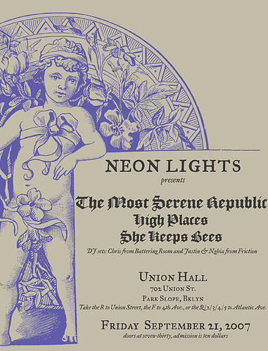 Neon Lights Presents The Most Serene Republic