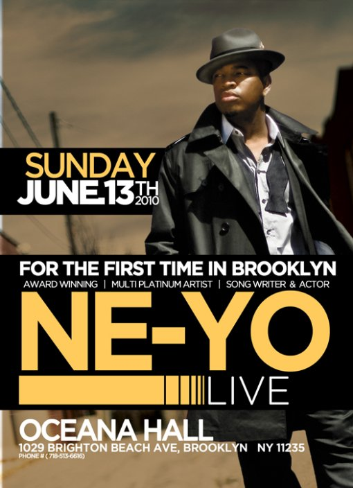 Ne-Yo in Brooklyn