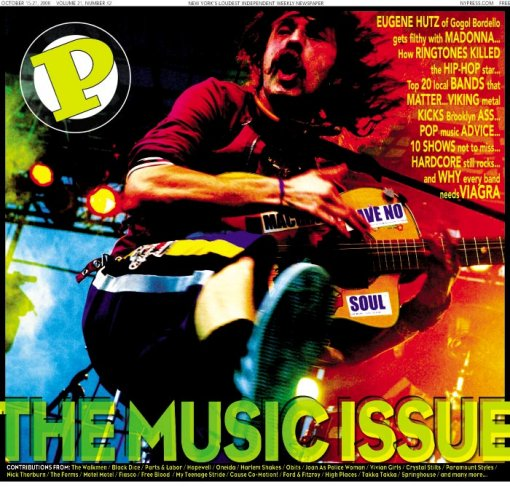 New York Press - The Music Issue