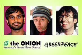 Onion Benefit at Comix