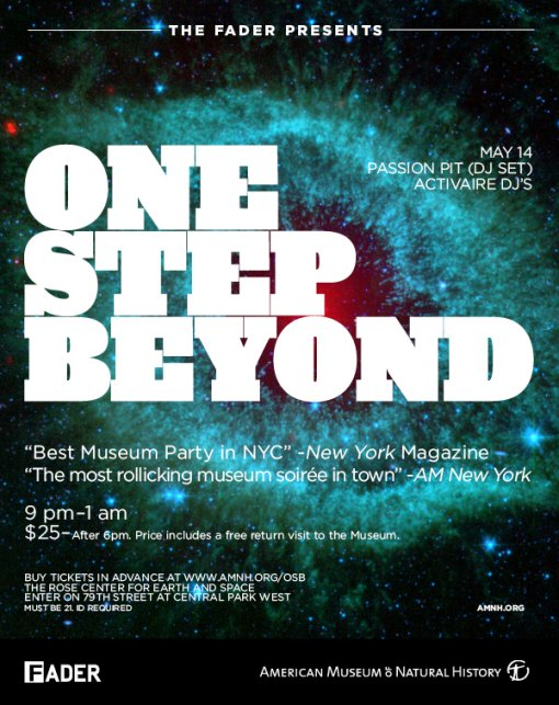 One Step Beyond w/ Passion Pit