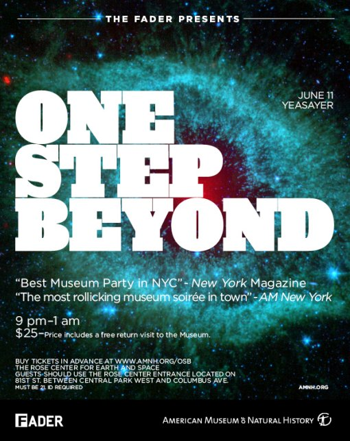 One Step Beyond w/ Yeasayer DJs