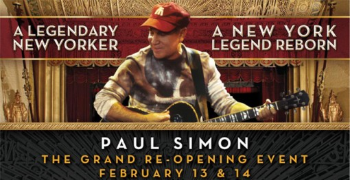 Paul Simon at The Beacon
