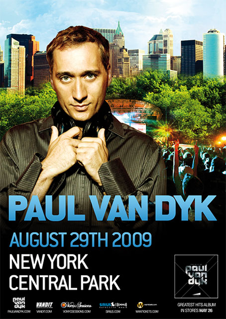 Paul Van Dyk in Central Park