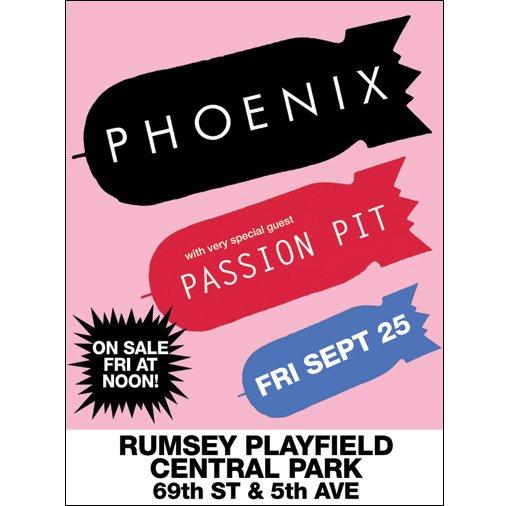 Phoenix w/ Passion Pit