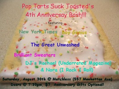 Pop Tarts Suck Toasted Ann Show
