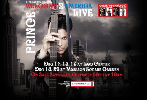 Prince Welcome 2 America Tour