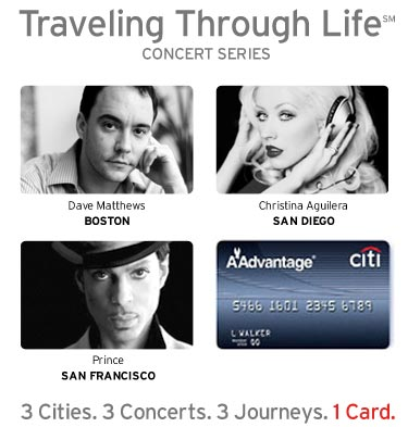 Private Pass Concerts Presented by Citibank Aadvantage Card