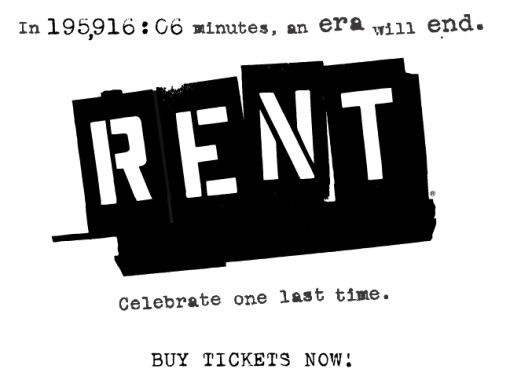 RENT on Broadway