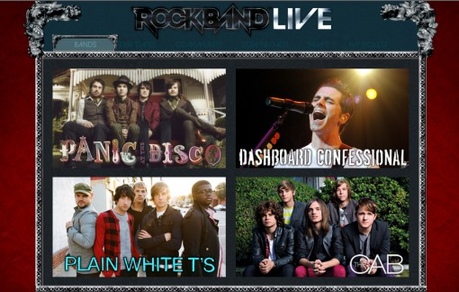 Rock Band Live Tour