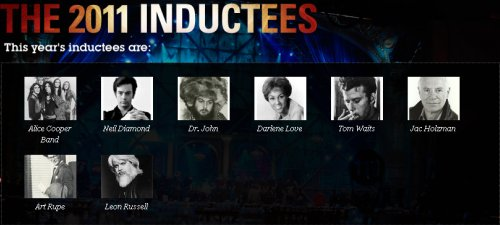 2011 Rock and Roll Hall of Fame Inductees