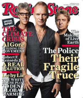 The Police Rolling Stone Cover | June 13, 2007