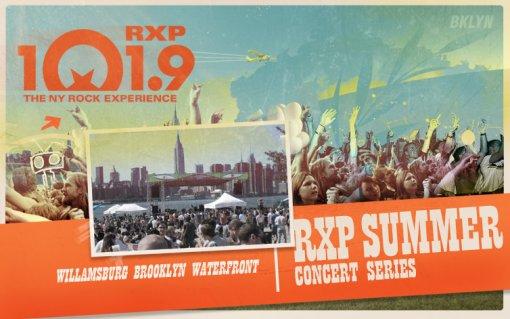 WRXP Summer Concert Series