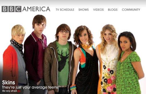 Skins on BBC America
