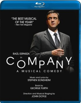 Stephen Sondheim's COMPANY on Blu-Ray Disc